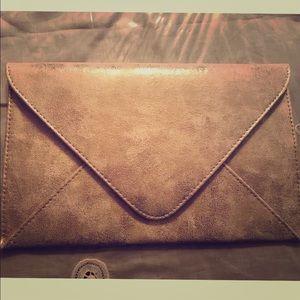 Handbags - Gold shimmer makeup bag